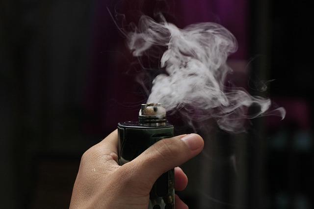nicotine vapour