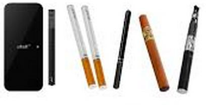lot of electronic cigarettes