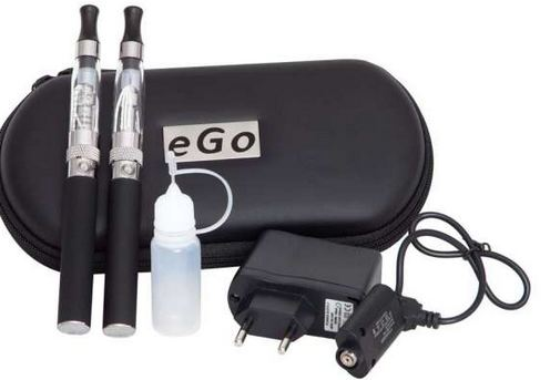 ego e-cigarette kit with eliquid